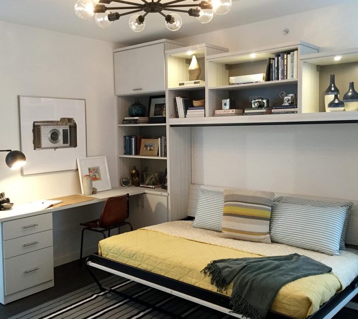 Amazing Fold Away Bed Ideas Of California Closets Wall Office Guestroom