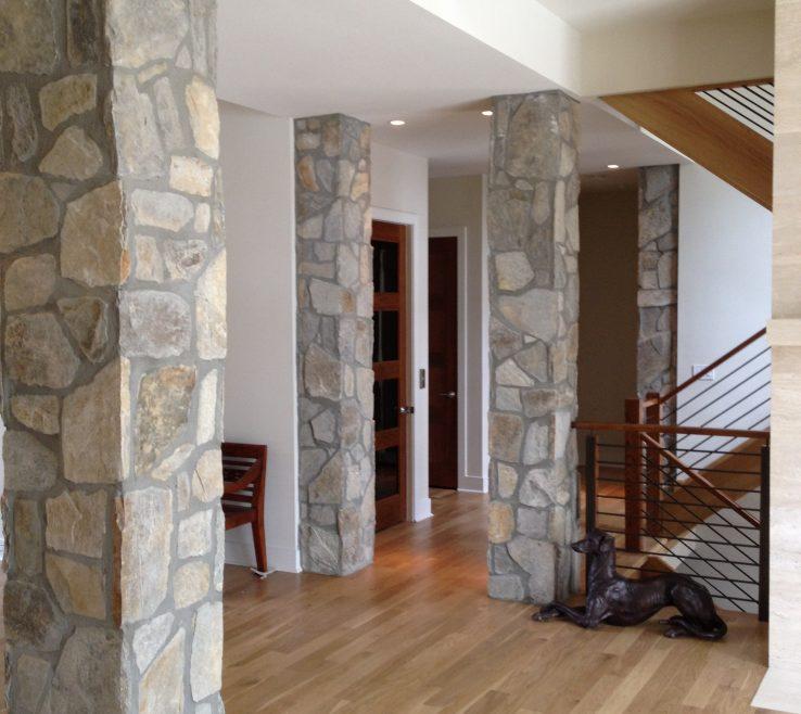 Amazing Interior Pillars Of Accent – Stone Columns