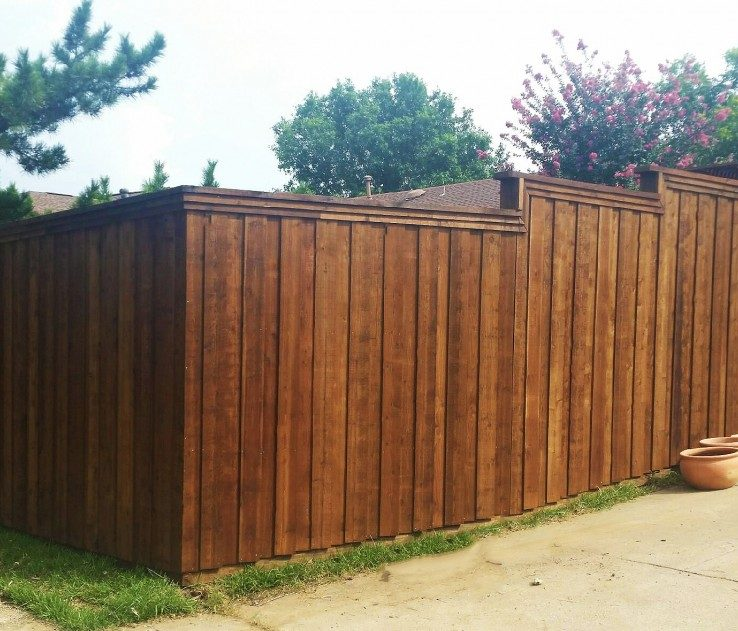 Artistic Attractive Fences Of High Cedar Privacy Fence