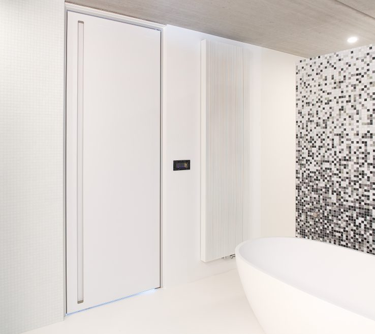 Artistic Interior Contemporary Doors Of Modern Door White With Minimalist Frame