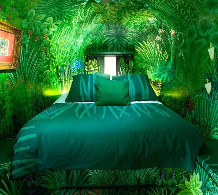 Artistic Safari Themed Living Room Of Forest Bedroom Wallpaper For Walls Jungle Bedrooms