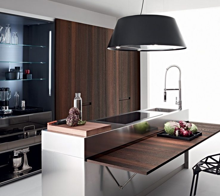 Artistic Space Saver Kitchen Design Of #kitchen #design #island.