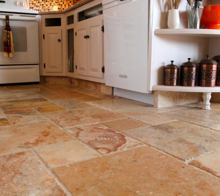 Artistic Tile Floor Designs For Kitchens Of Great Kitchen Design