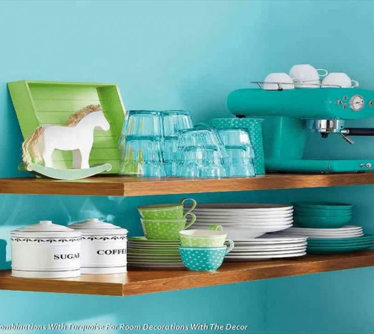 Astonishing Green And Turquoise Decor Of Color Binations Against For Room Decorations
