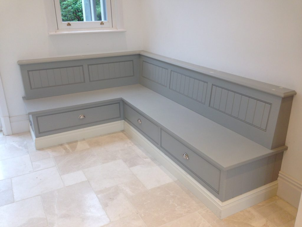 Astonishing Kitchen Bench Seat With Storage Of Custom ...