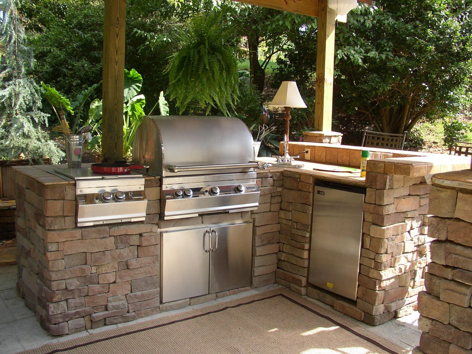 Astonishing Outdoor Summer Kitchen Ideas Of Kitchen:outdoor ...