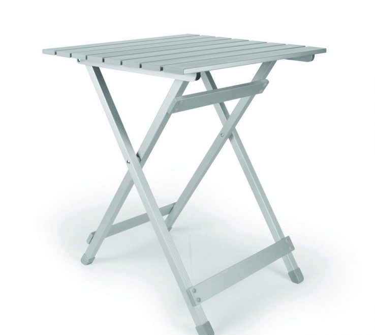 Astonishing Table Collapsible Of Conceptreview: Camco 51891 Aluminum Fold Away Side