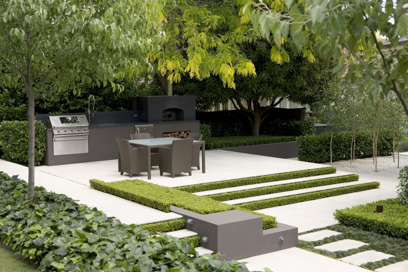 Astounding French Garden Design Ideas Of Modern Acnn Decor