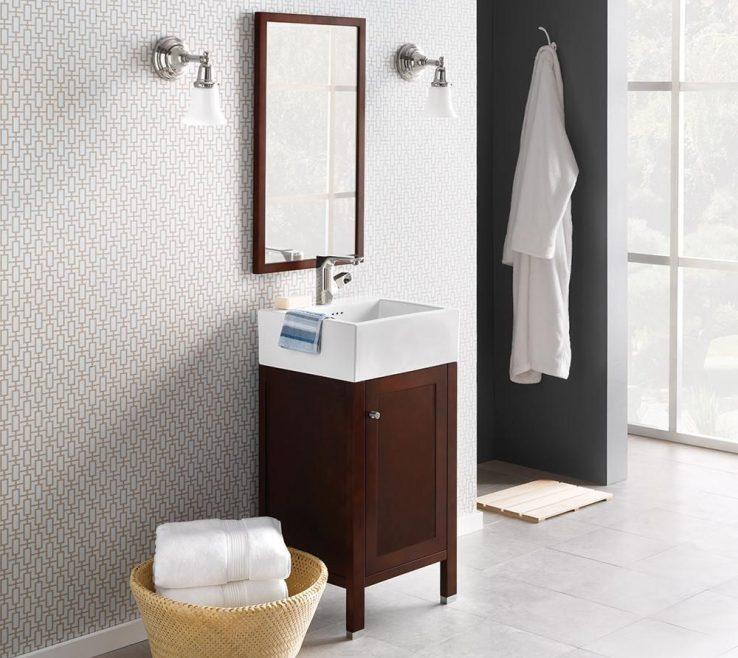 Astounding Space Saving Vanity Of Slender And Petite The Cami Bathroom Vanitys