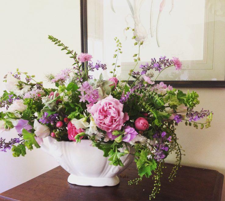 Attractive Bedroom Flower Arrangements Of Floral Arrangement · Pastel Van Vase. Flowers