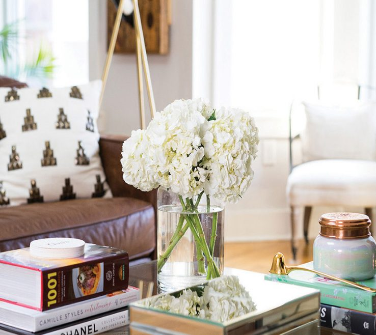 Attractive Flowers For Coffee Table E Fresh To Brighten Your Table. You