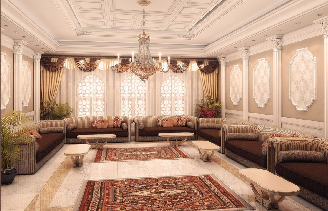 Attractive Middle Eastern Living Room Furniture Of Full Size ...