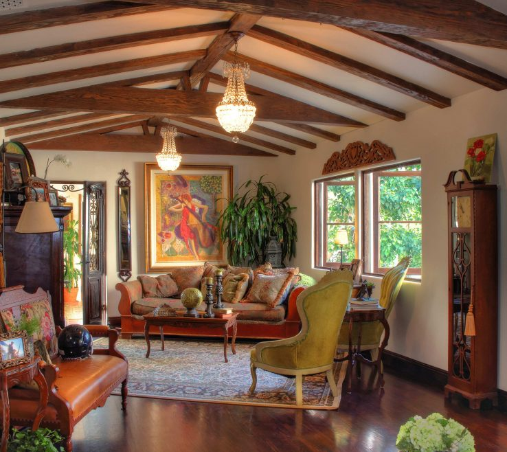 Attractive Spanish Decor Ideas Of Interior Cozy Room