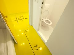 Yellow Bathrooms