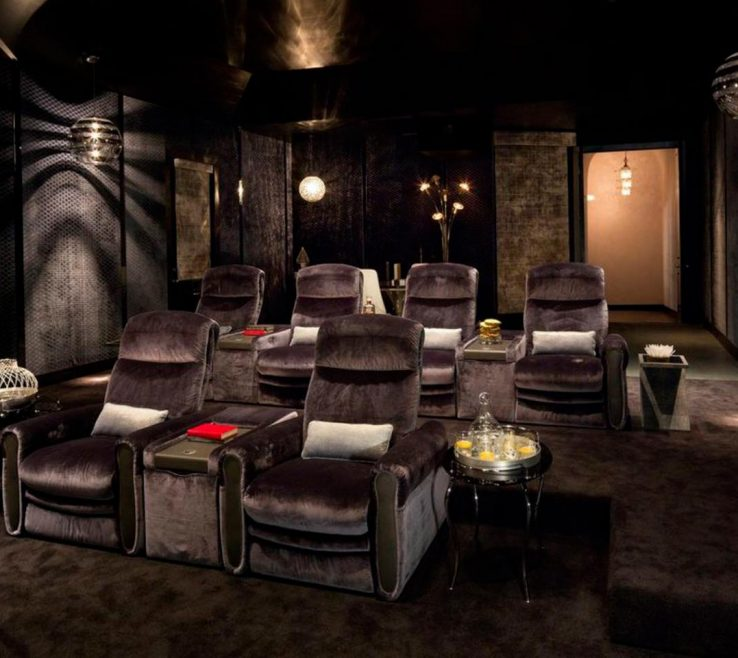 Awesome Ideas For Theater Room Of Home Decor