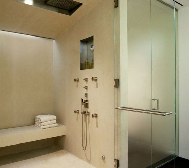 Awesome Modern Bathroom Showers Of Designer | Consider This Lighting And