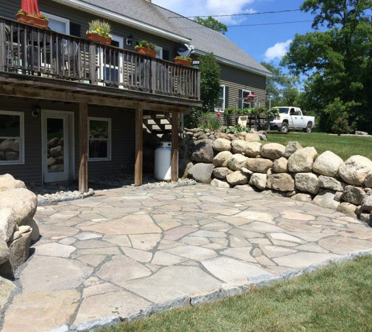 Awesome Natural Stone Walkway Of Walkways Acnn Decor