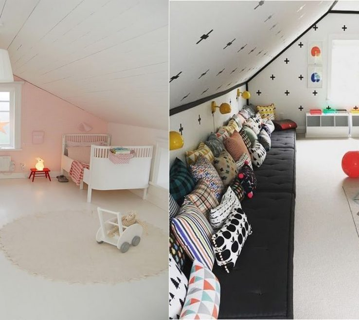 Beautiful Attic Bedroom Ideas Of Cool Kids Rooms And Bedrooms Room