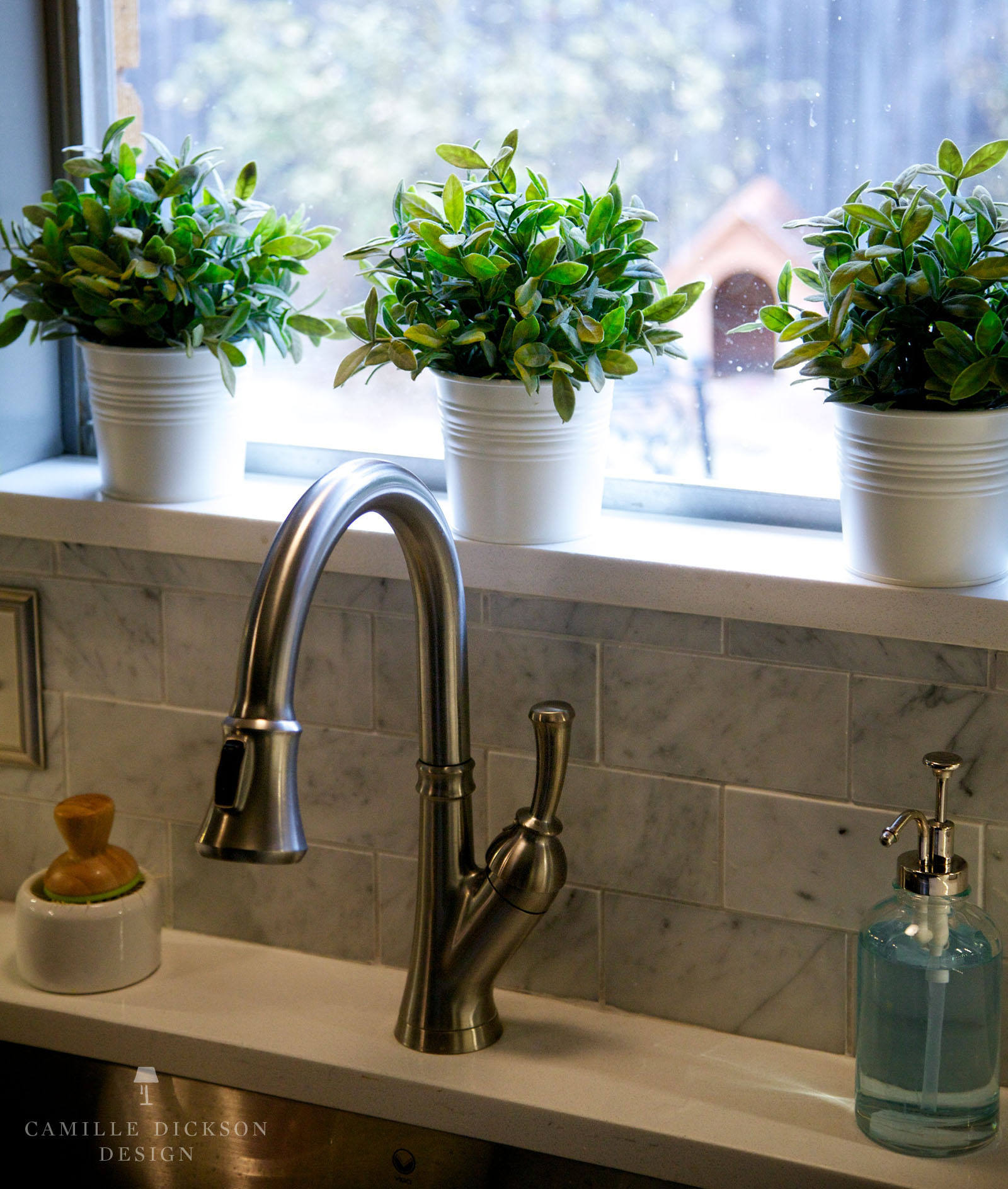 Beautiful Kitchen Window For Plants Of Christmas Sill Decorations