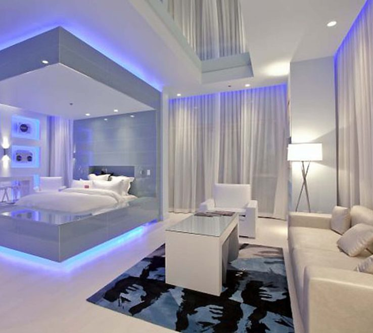 Beautiful Modern Lighting Ideas Of Bedroom:modern And Furniture Bedroom With Spectacular Images
