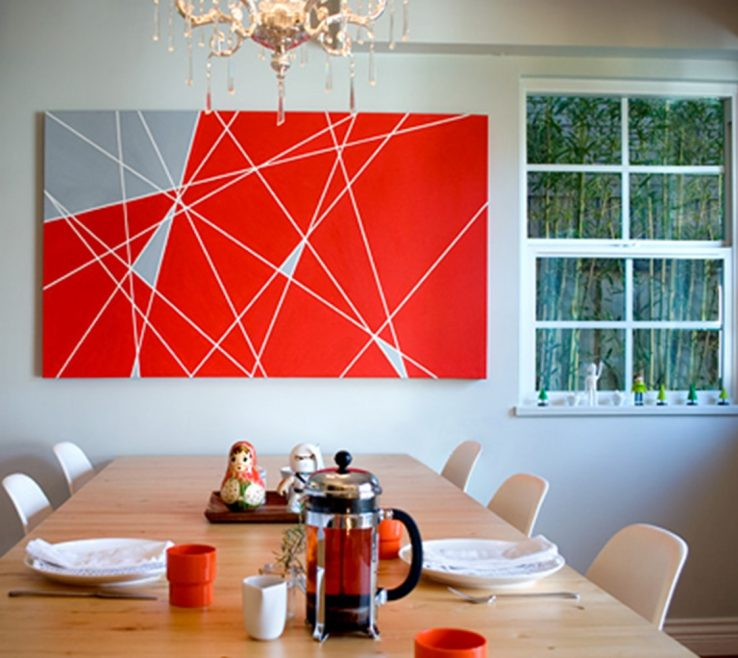 Beautiful Modern Painting Ideas Of Contrast Canvas