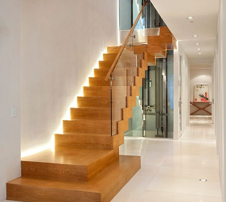 Beautiful Modern Staircase Lighting Of 15 Uplifting Contemporary Designs For Your Idea