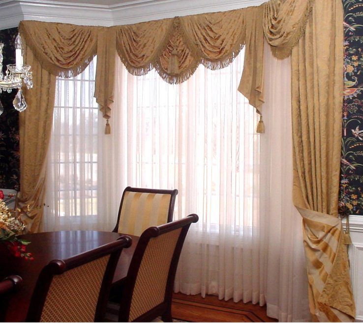 Beautiful Window Treatment Ideas For Living Room Of Room, Contemporary Dressings Roman Shades Windows: