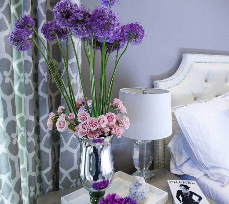 Bedroom Flower Arrangements Of Floral For The Bedroom.