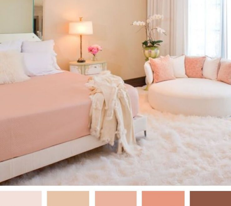 Best Bination For Bedroom Of New Way To Do Pink Scheme Colour