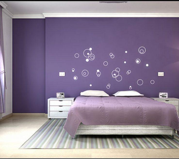 Best Bination For Bedroom Of Way Decorate Teenage Girls Purple Schemes