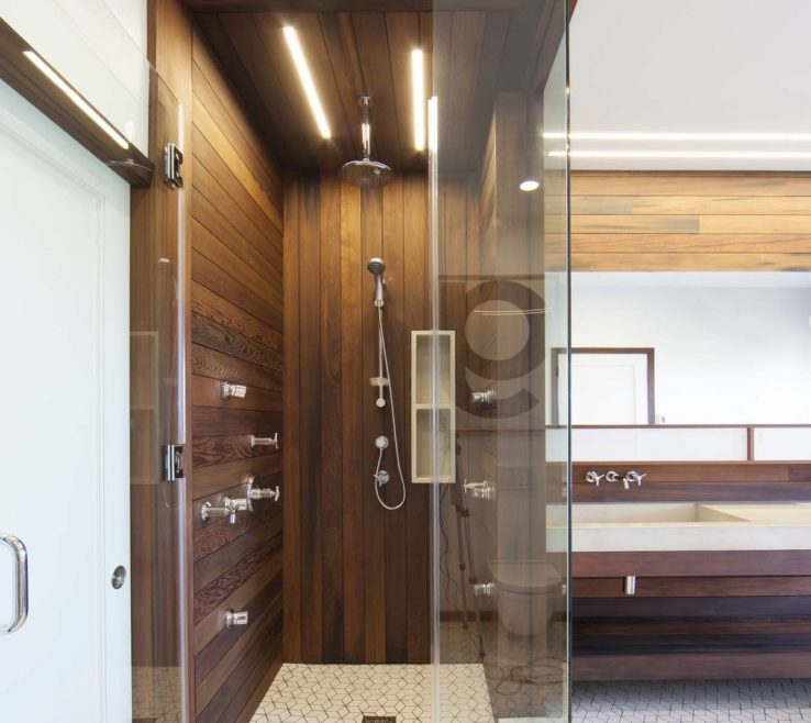 Best Modern Bathroom Of Bath Room And Enclosed Shower Lighting