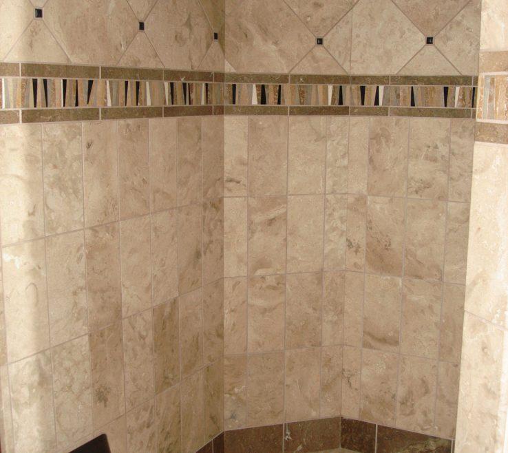 Brilliant Bathroom Tile Designs Of Shower