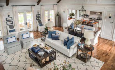 Brilliant Beach Home Interior Design Of Blue And White Enhances This