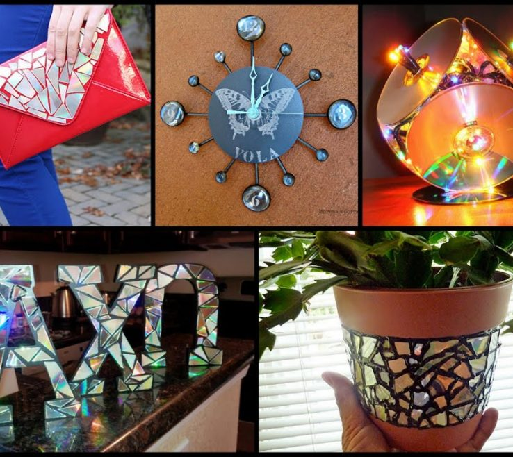 Brilliant Creative Recycling Ideas Of Best Diy Cds Recycled Home Decor Youtube