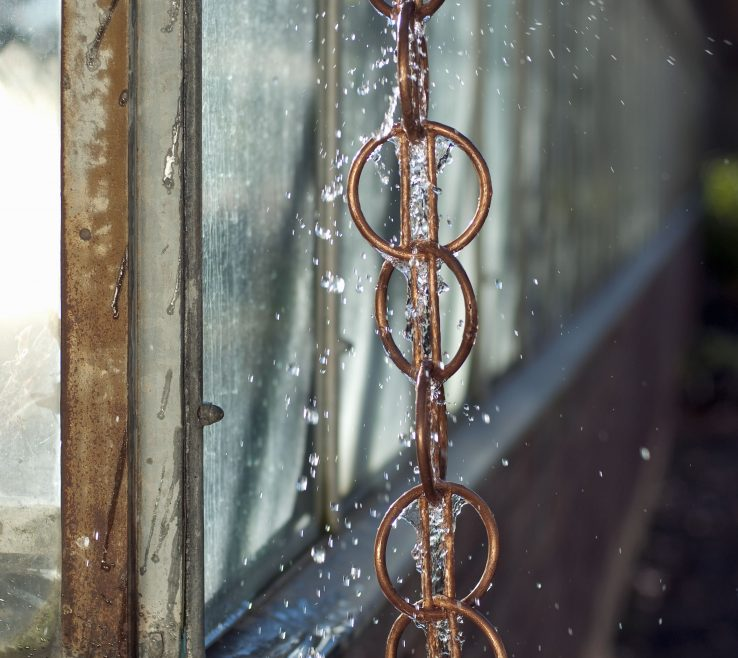 Brilliant Decorative Downspouts Rain Chains