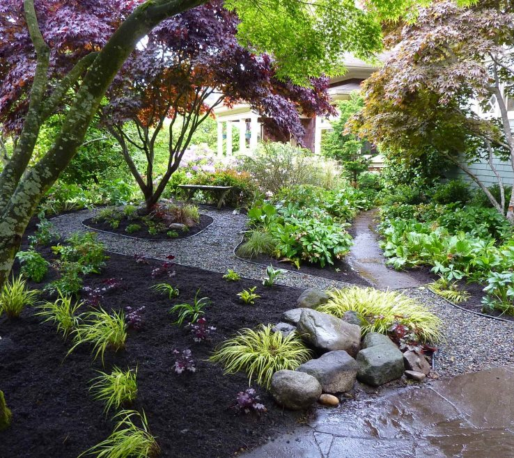 Brilliant Japanese Garden Ideas Of Image Of: Landscaping Front Yard Hill Amys
