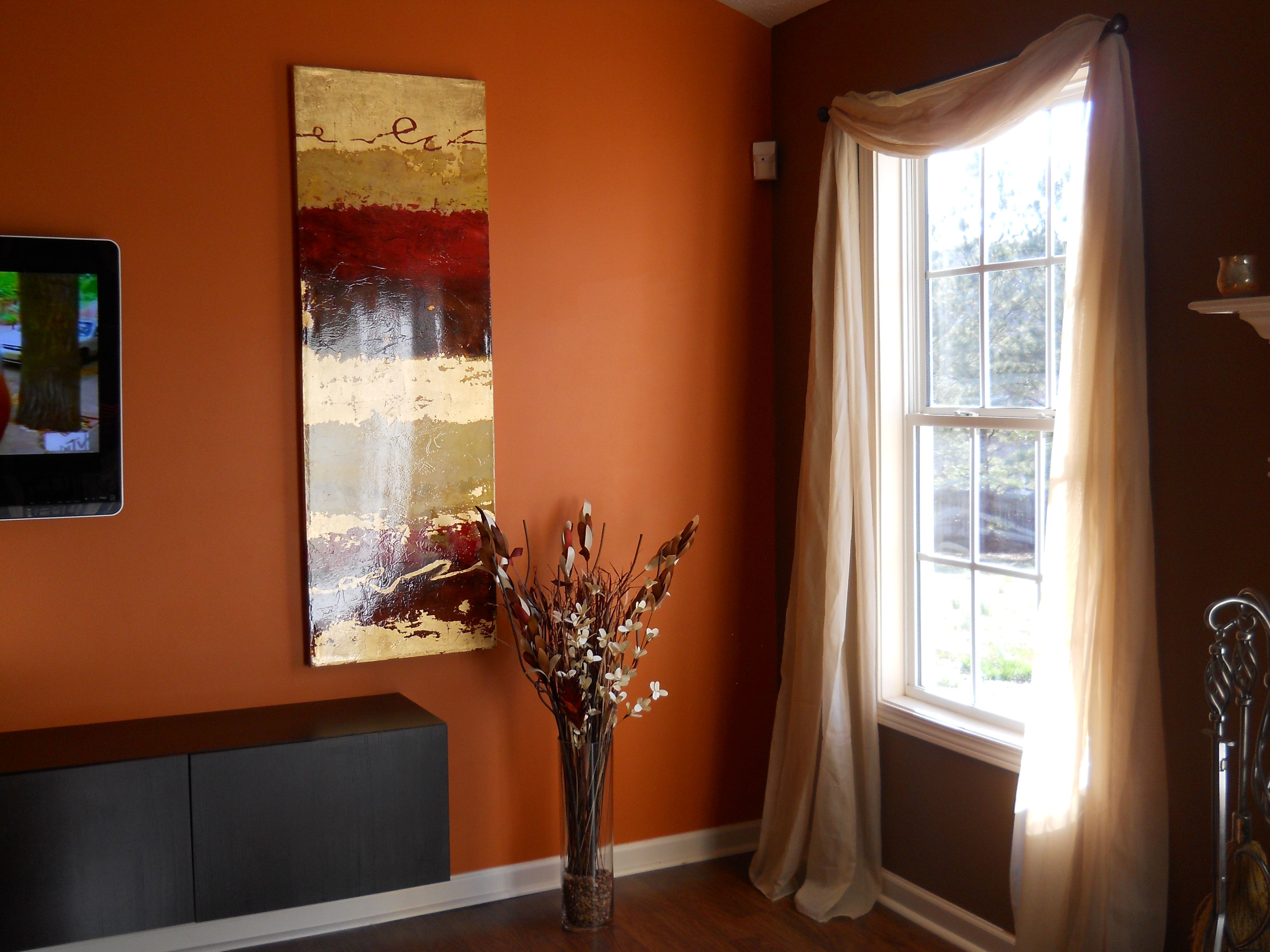 Burnt Orange And Brown Living Room Decor Of In 32498 Acnn Decor