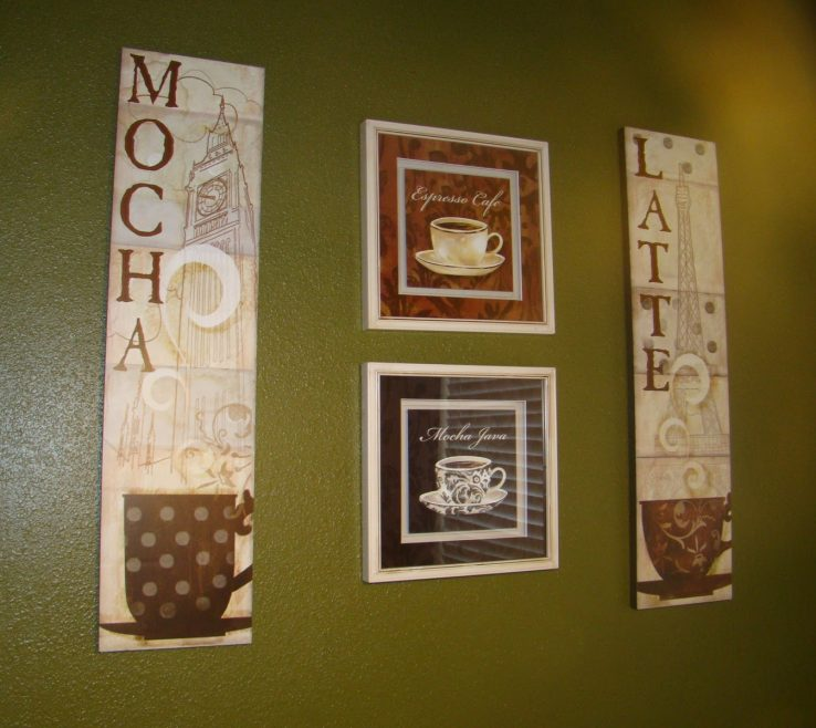 Captivating Coffee Themed Wall Decor Of Kitchen Accessories Kitchen Design Ideas