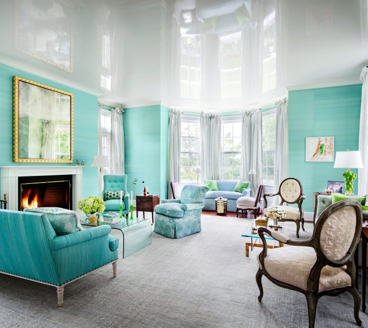 Captivating Green And Turquoise Decor Of 33 Spaces For Jewel Tone Paint Color Inspiration