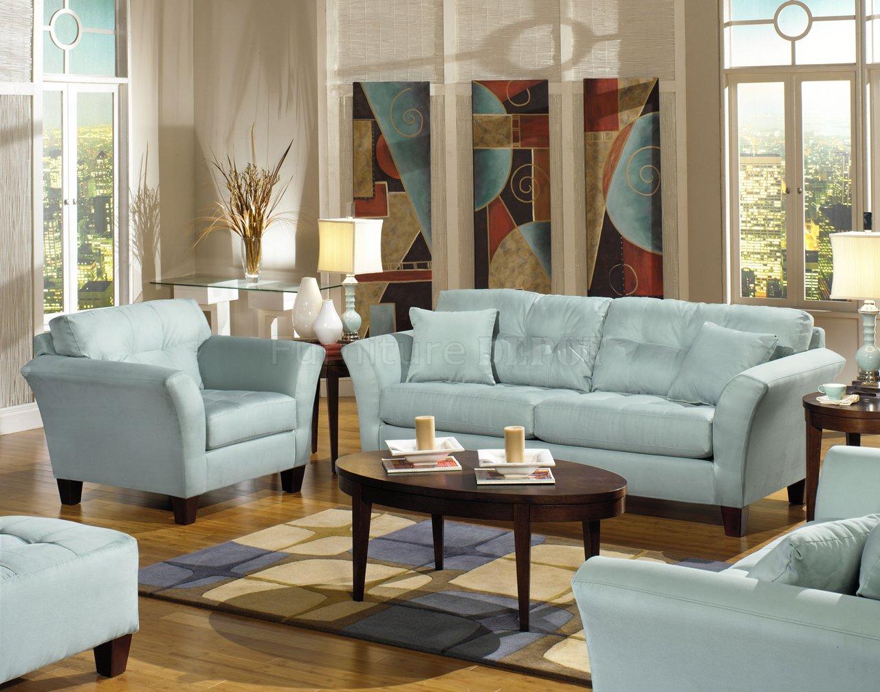 Captivating Light Blue Living Room Ideas Of Best Fabric Sofa ...