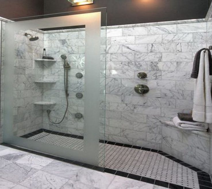 Captivating Modern Bathroom Showers Of 30 Awesome Ideas: Design Ideas With Walk