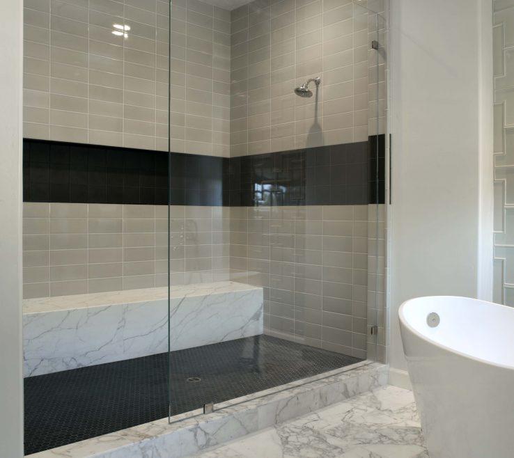 Captivating Modern Bathroom Showers Of Detail Image Shower Tile Ideas For Decoration
