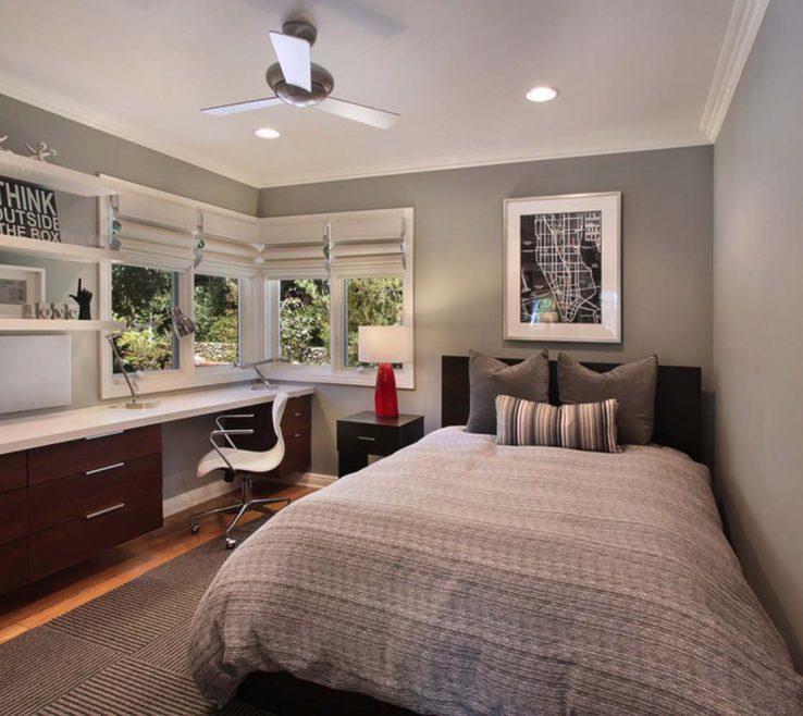 Charming Bedroom Office Desk