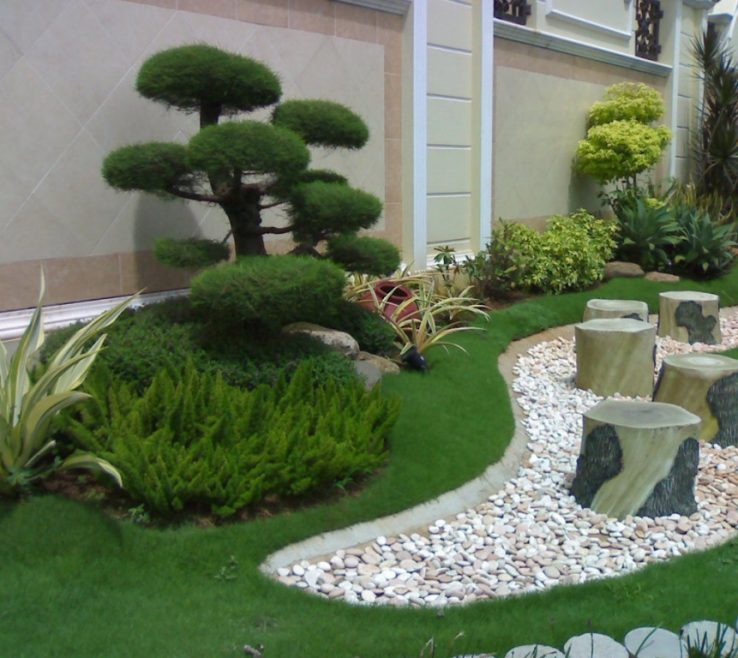 Charming Japanese Garden Ideas Of Outdoor With Small Space Fits With