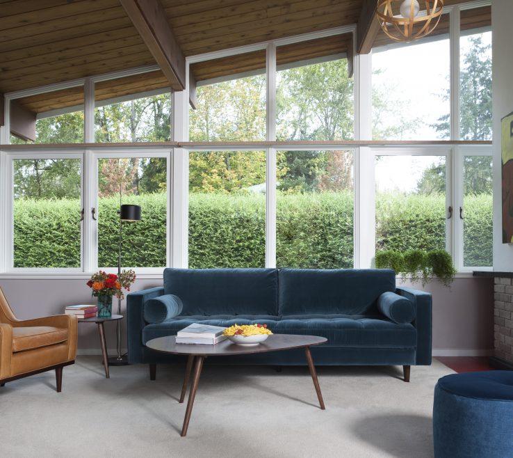 Charming Mid Century Modern Interiors