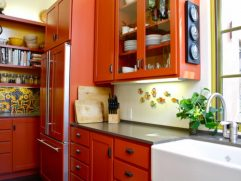 Orange Kitchen S Of Ugh. Totally Willing To Paint The And
