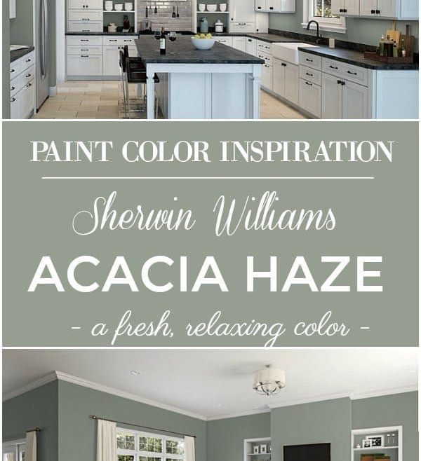 Charming Room Color Inspiration Of Sherwin Williams Acacia Haze Paint Color!