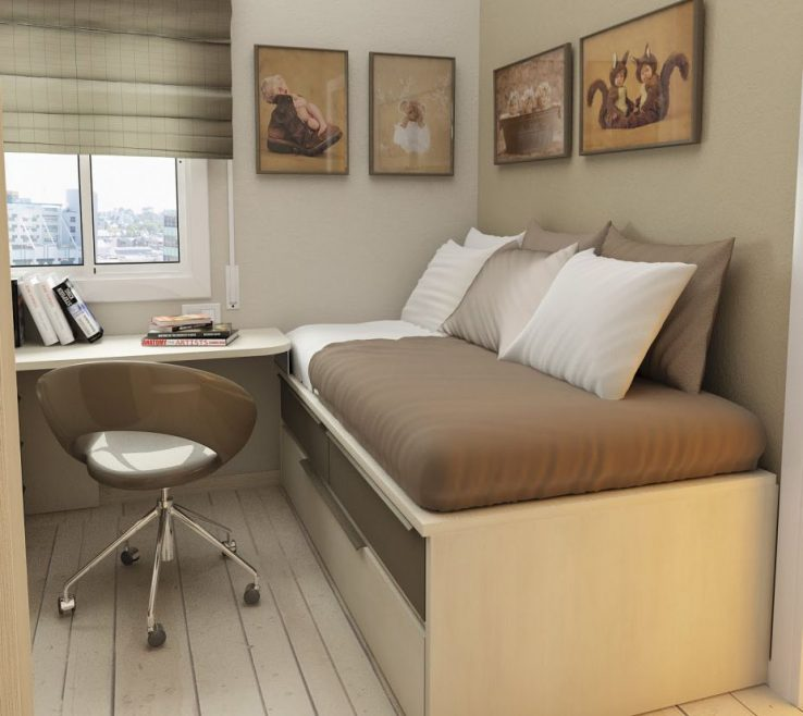Childrens Storage Beds For Small Rooms Of Amazing Bedroom With Bed And Brown Bed