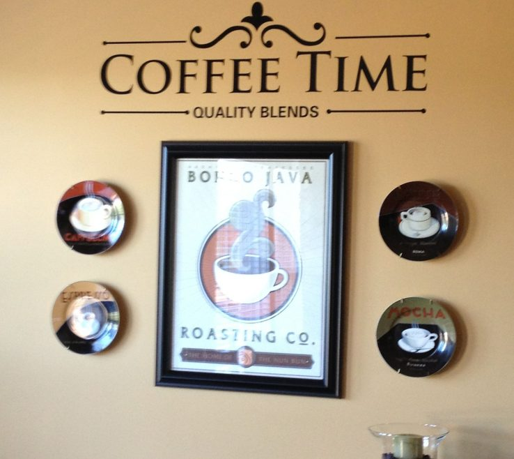 Coffee Themed Wall Decor Of Theme Hangings Kitchen Themes Home Decor Vintage