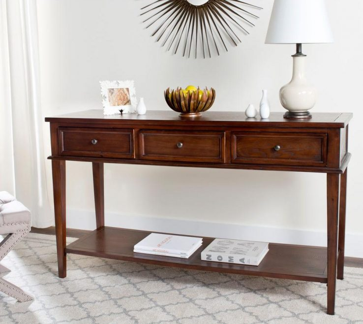Contemporary Console Table With Drawers Of Sofa Table Full Size Of Sofa
